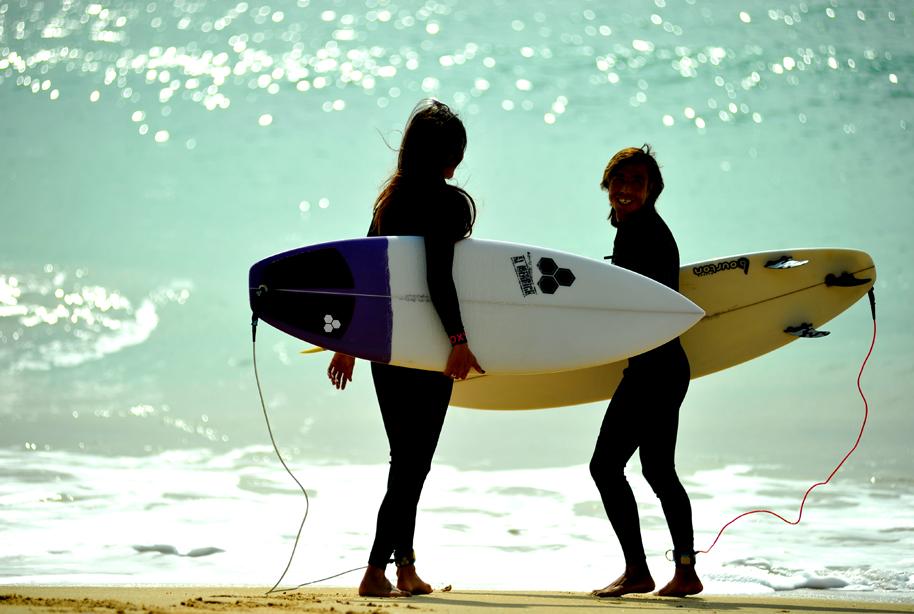 серфинг на хайнане