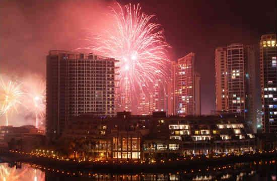 Новый год Санья