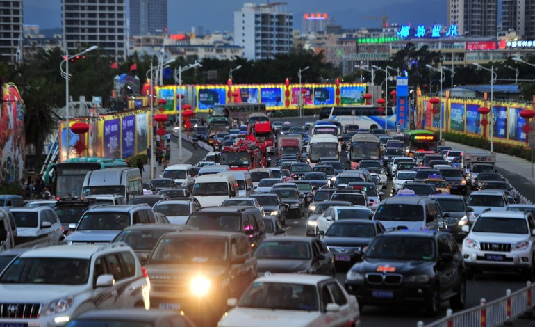Виды транспорта на о. Хайнань